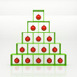 Christmas pyramid — Stock Photo
