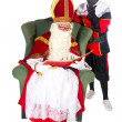 Sinterklaas and Black Piet — Stock Photo #3928838