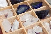 Quartz stones — Stock Photo