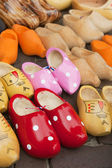 Dutch wooden clogs — Stock Photo