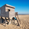 Beach hut — Stock Photo