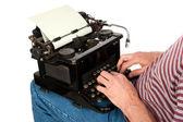 Pisarz — Zdjęcie stockowe
