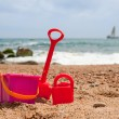 Toys at the beach — Stock Photo #4070962