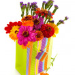 Colorful flower bouquet — Stock Photo #4071786