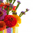 Stock Photo: Colorful flower bouquet