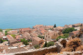 Downtown Monemvasia near the sea — Fotografia Stock