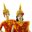 Royalty-Free Stock Photo: Thai dancers