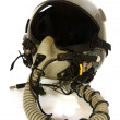 Stock Photo: Americain aircraft helmet