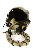 Americain aircraft helmet — Stock Photo
