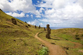 Landscape at easter island — Stock Photo