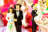 Wedding day for couple — Stock Photo