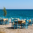 Greek beach — Stock Photo