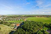 Landscape From Dutch wadden island — Stock Photo