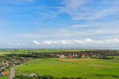 Landscape From Dutch wadden island — Stock Photo