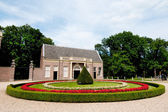 Koetshuis van kasteel groeneveld — Stockfoto