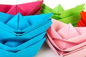 Paper boats — Stockfoto