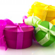 Colorful presents — Stock Photo #4739414