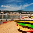 Beach in San Feliu de Gauxols - Stock Photo