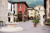 Street in Pisogne — Stock Photo