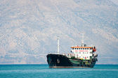 Tanker boat at the sea — Stock Photo