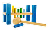 Toy tool for the carpenter — Stock Photo