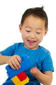 Happy Chinese boy — Stock Photo
