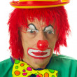 Portrait of a depressed clown — Stock Photo #4890139