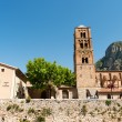 Church in Moustiers st marie — Stock Photo