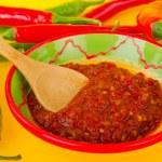 Hot pepper paste — Stock Photo #4890370