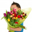 Child with flowers — Stock Photo #4890967