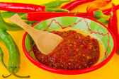 Hot pepper paste — Stok fotoğraf