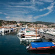 Harbor in San Feliu de Gauxols - Stock Photo