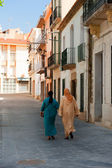 Maroc woman in Spain — Stock Photo