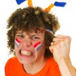 Stock Photo: Boy is supporting Dutch