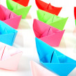 Paper boats — Stock Photo #5089849