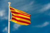 Catalan flag — Stock Photo