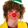 Stock Photo: Portrait of clown