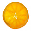 Slice orange — Stock Photo