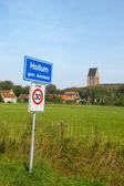 Little village at Dutch island — Stock Photo