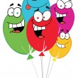Royalty-Free Stock Photo: Happy Birthday Baloons