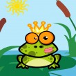 Foto Stock: Illustration Of Frog Prince