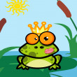 Foto de Stock  : Illustration Of Frog Prince