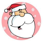 Cartoon Santa Claus — Stock Photo