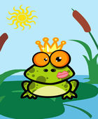 Illustration Of Frog Prince — Stock Photo