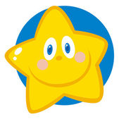 Friendly Star Face — Stock Photo