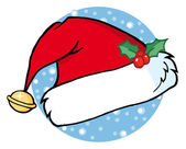Santa's Hat Illustration — Stockfoto