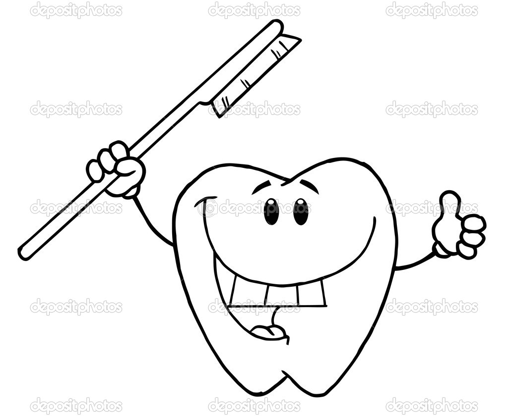 coloring pages of teeth free toothbrush coloring page with