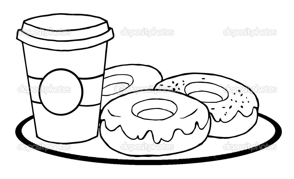coffee coloring pages - photo#28