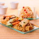 Chow Mein — Stock Photo