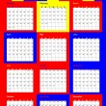 Calendar 2011 — Stock Vector #4554793